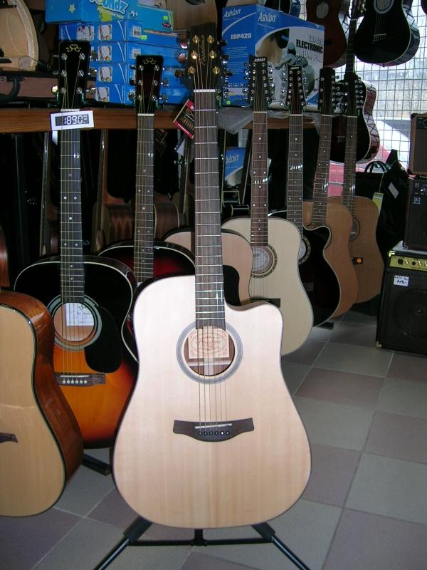 Pasadena d 111ce elektroakustick kytara hudebniny for Yamaha of pasadena